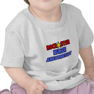 Rock Star Nurse Anesthetist T-shirts