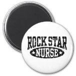 Rock Star Nurse Fridge Magnets