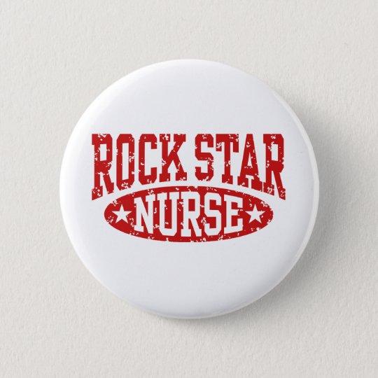 Rock Star Nurse Pinback Button