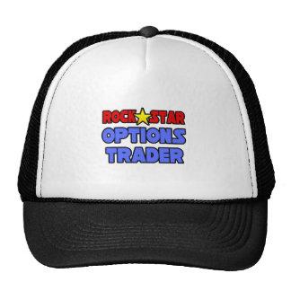 Rock Star Options Trader Mesh Hats