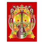 Rock Star Peace Postcard