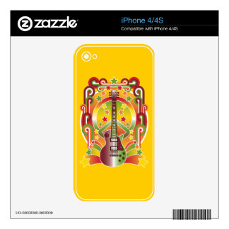 Rock Star Peace Skins For The iPhone 4