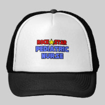 Rock Star Pediatric Nurse Hats