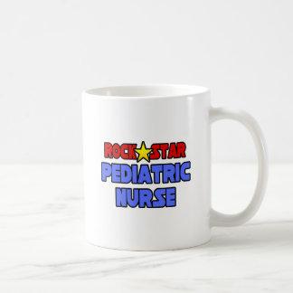 Rock Star Pediatric Nurse Mugs