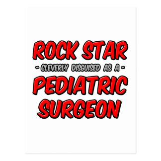 Rock Star ... Pediatric Surgeon Postcard