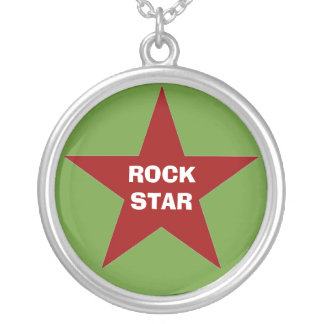 """Rock Star"" Pendant Necklace"