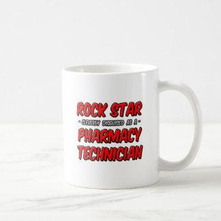 Rock Star .. Pharmacy Technician Coffee Mugs