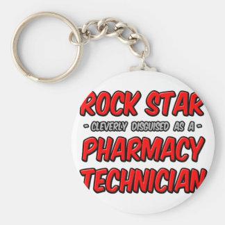 Rock Star .. Pharmacy Technician Keychains