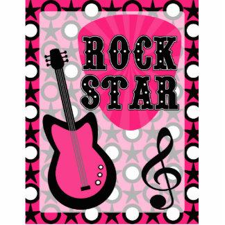 Rock Star Standing Photo Sculpture