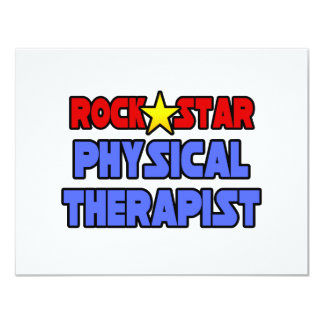 Rock Star Physical Therapist Personalized Announcement