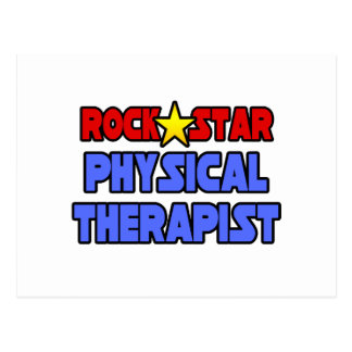 Rock Star Physical Therapist Post Card