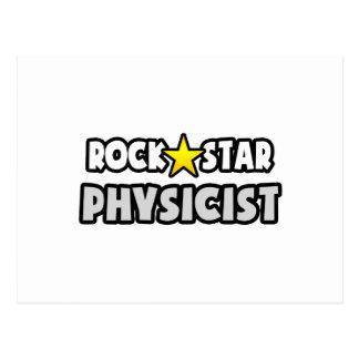 Rock Star Physicist Postcard