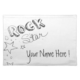 Rock Star Placemats