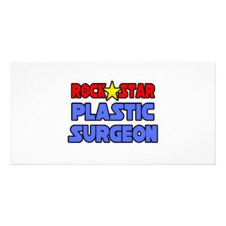 Rock Star Plastic Surgeon Picture Card