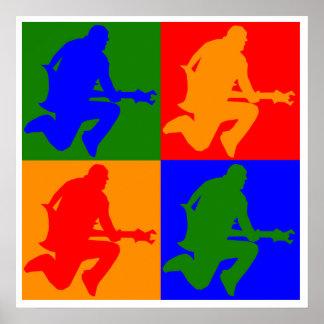 Rock Star Pop Art Print