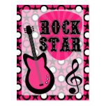 Rock Star Post Cards