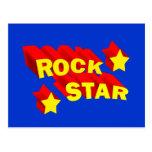 Rock Star Postcard