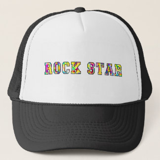 Rock Star Prismatic and Colorful Trucker Hat