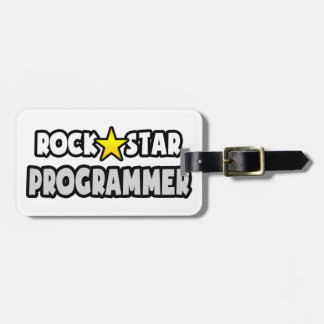 Rock Star Programmer Tags For Bags
