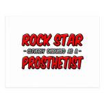 Rock Star .. Prosthetist Post Card