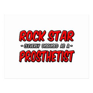 Rock Star .. Prosthetist Postcard
