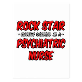 Rock Star...Psychiatric Nurse Postcards