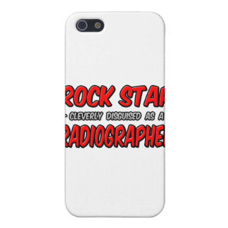 Rock Star .. Radiographer iPhone 5 Covers