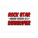 Rock Star .. Radiographer Postcard
