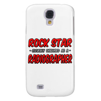 Rock Star .. Radiographer Samsung Galaxy S4 Cover