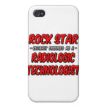 Rock Star .. Radiologic Technologist iPhone 4/4S Covers