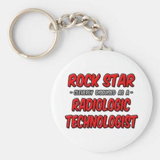 Rock Star .. Radiologic Technologist Keychain