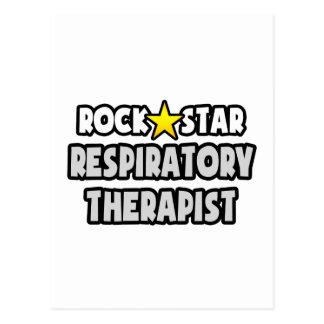 Rock Star Respiratory Therapist Postcard