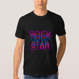 ROCK, STAR, ROCK, STAR, ROCK, STAR T SHIRT