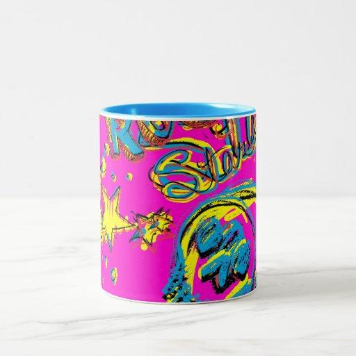 Rock Star Skull Coffee Mug