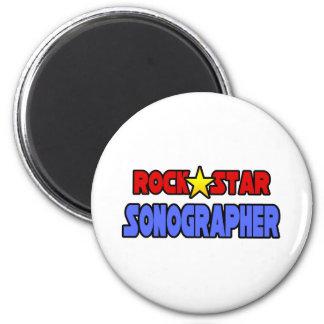 Rock Star Sonographer Magnet