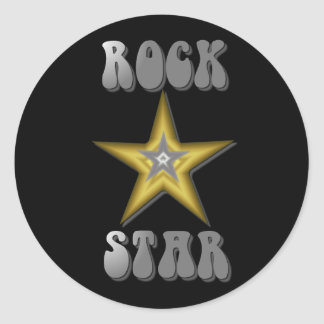 Rock Star Sticker