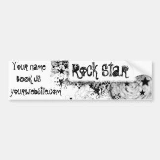 Rock Star Style Bumper Sticker