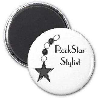 Rock Star Stylist Refrigerator Magnets