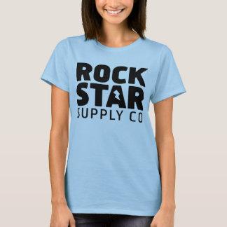 Rock Star Supply Logo Girl T Shirt