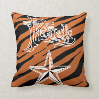 Rock Star Tiger Stripe Pillows