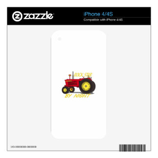 Rock Star Tractor Skin For The iPhone 4S