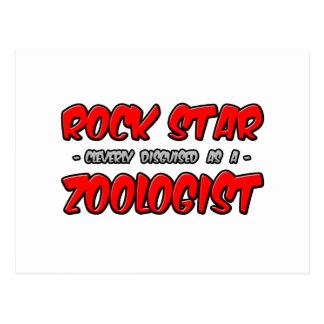 Rock Star...Zoologist Postcards