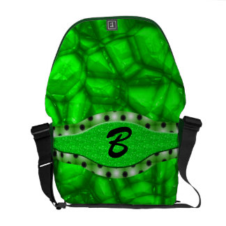 Rock Stars In Green Courier Bag