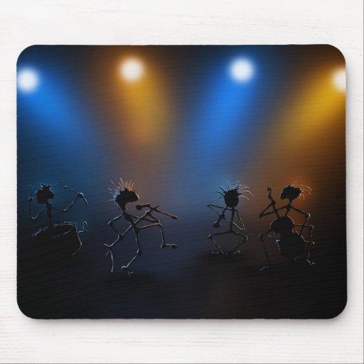 Rock Stars Mouse Pad