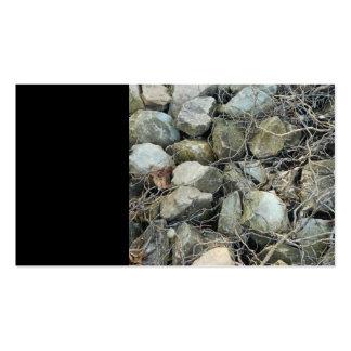 Rock Sticks Plain Classic Nature Business Cards