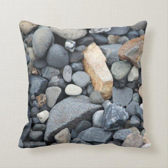 Rock, stone, beach gravel pillow