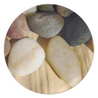 Rock Stone Sand Plate