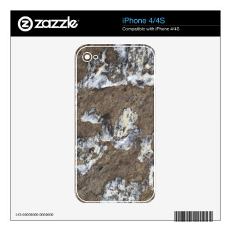 Rock Surface iPhone 4S Skin