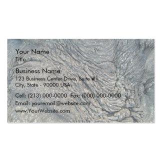 Rock Swirl Pattern Business Card Template