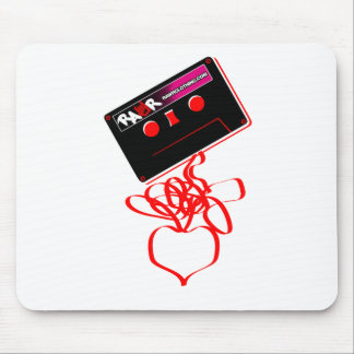 Rock Tape Love - Emo Music Cassette Rock Heart Mouse Pad